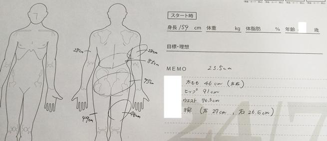 24/7ワークアウトで2ヶ月間トレーニングして体型の変化、ウエスト8.5cm減など