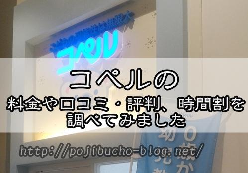 【札幌市の幼児教室】コペルの料金や口コミ・評判、時間割を調べてみました。