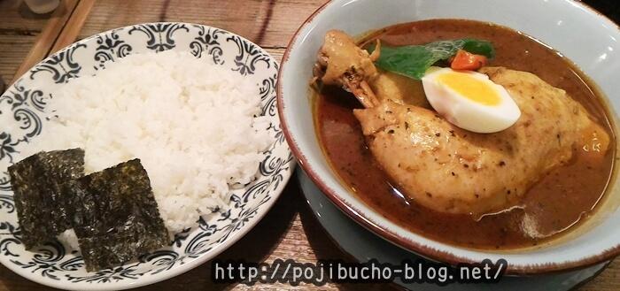 らっきょ札幌エスタ店のチキンスープカレーの画像