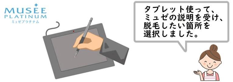 ミュゼの無料カウンセリングの概要 (1)