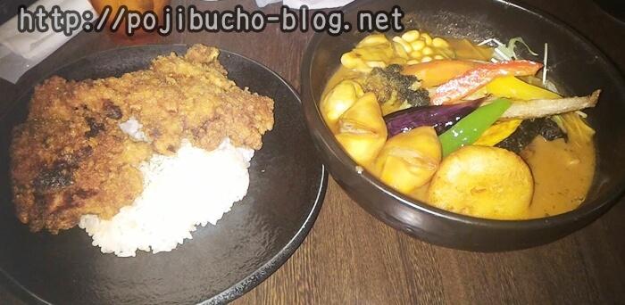 SAMURAI(サムライ)の侍まつりというスープカレー