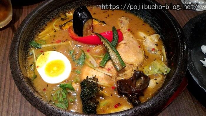 ラ・メゾン・ド・カリークゥーのスープカレーのやわらかチキンの画像