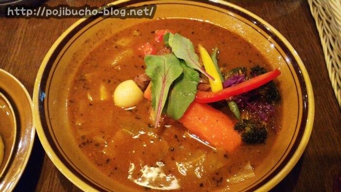 札幌のスープカレー・Treasure(トレジャー)で実際に注文した料理