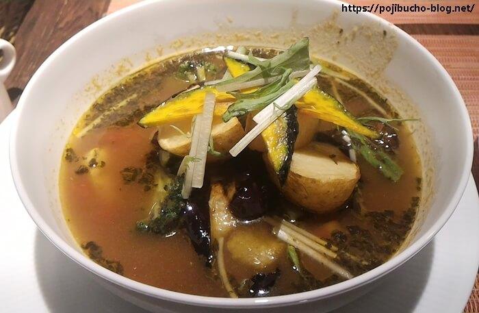 カレー&バール GARAM(ガラム)のスープポークの接写