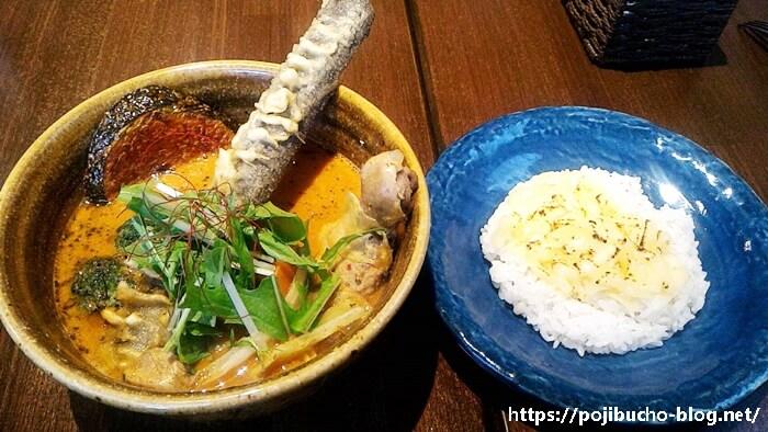 SOUL STORE(ソウルストア)のチキンと野菜のカリーのボッサスープの辛さ5番の画像