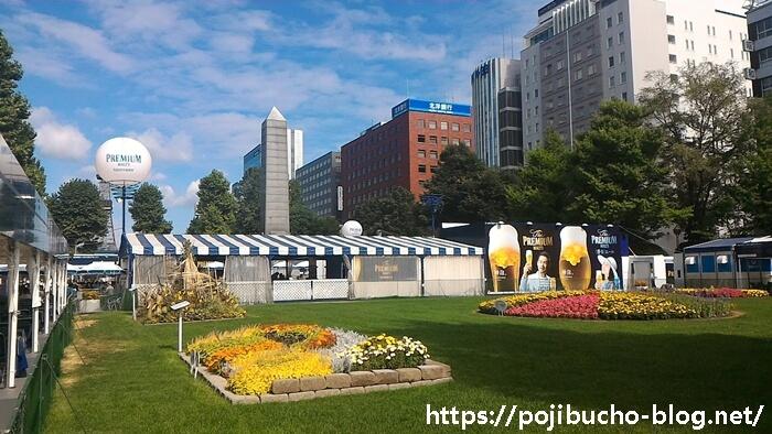 大通公園の風景の画像
