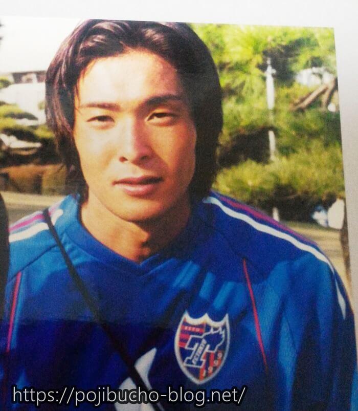 FC東京選手時代の加地亮さん