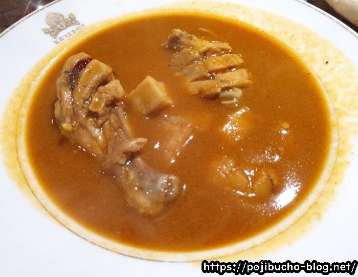 クリシュナのスープカレー接写