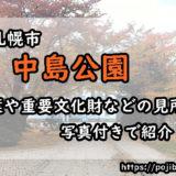 中島公園の見所のアイキャッチ画像