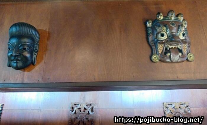 ピカンティのエスニック風の装飾
