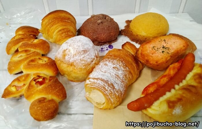 フォンテーヌのパン集合