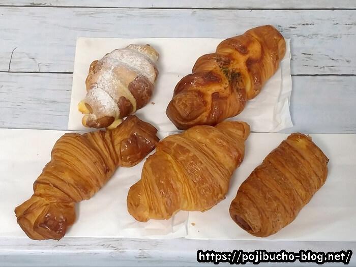 コンガリーナのパン5種類