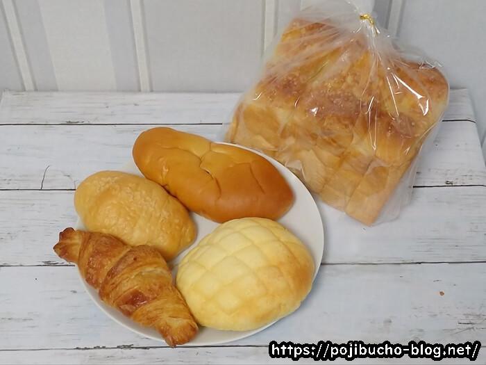角食ラボのパン5種類
