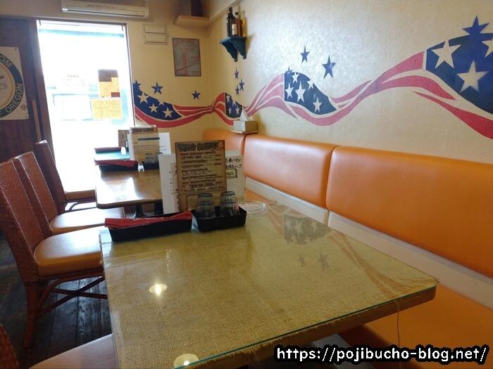 ルー&スープカレー ボナンザの店内の画像