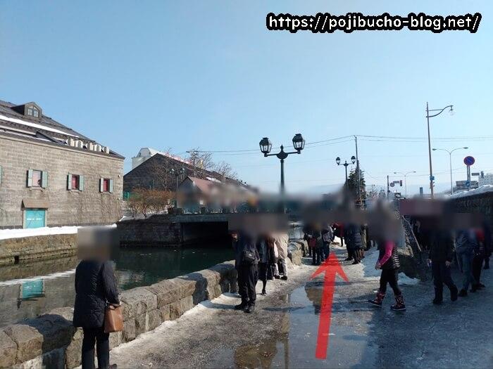 小樽運河の浅草橋