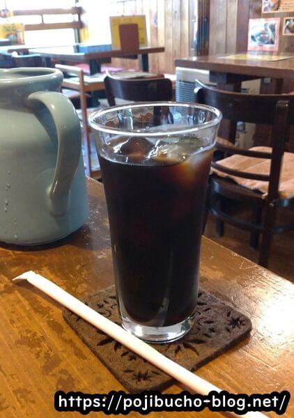 ジャックインザボックスのアイスコーヒー