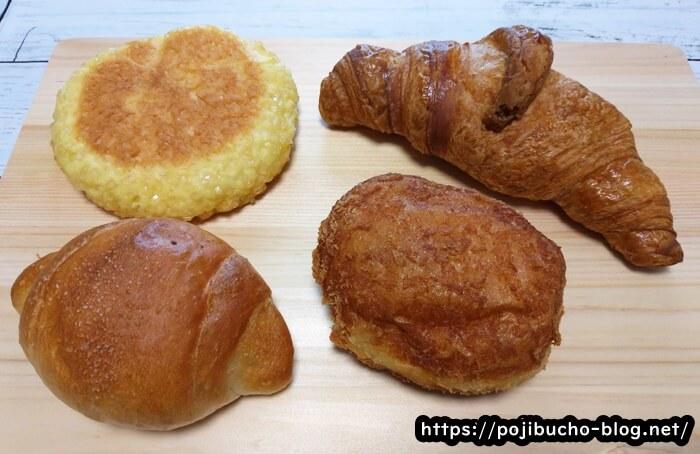 ペンギンの購入したパン4種類