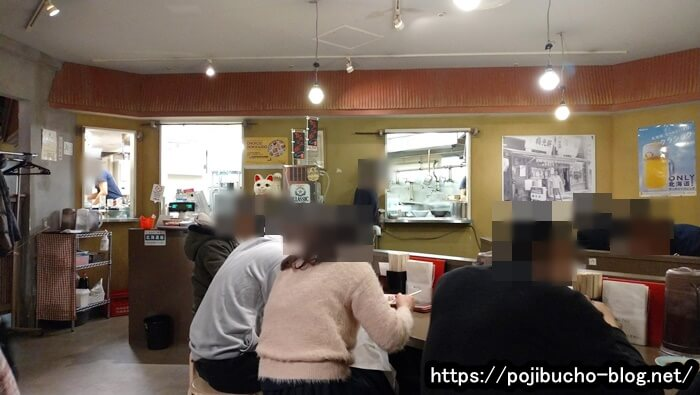 梅光軒札幌エスタ店のカウンター席の画像