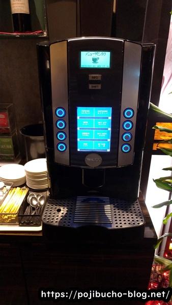 エイトライスフィールドカフェのコーヒーマシンの画像