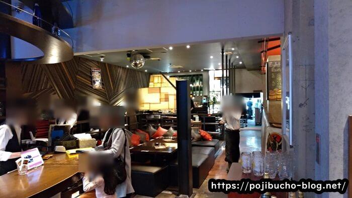 エイトライスフィールドカフェの受付の画像