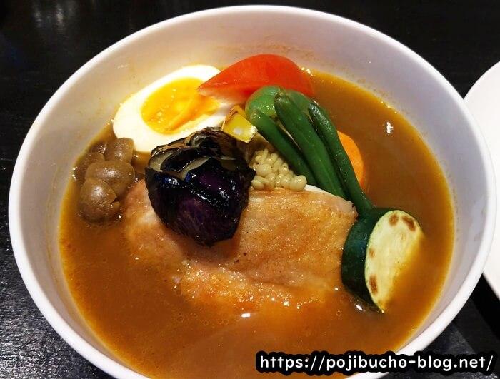 カリーヤコングのチキンと野菜のスープカレーの画像